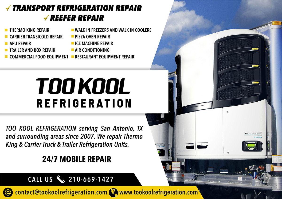Too Kool Refrigeration > Transport Refrigeration Repair